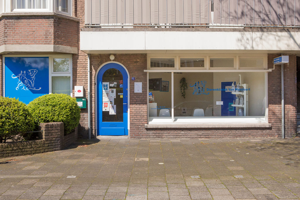 Dierenklinkiek van Montfoort Voorburg - Contact